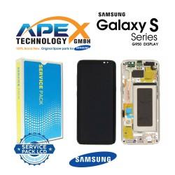 Samsung Galaxy S8 (SM-G950F) Lcd Display / Screen + Touch Gold GH97-20457F OR GH97-20458F OR GH97-20473F OR GH97-20629F