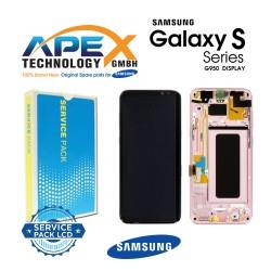 Samsung Galaxy S8 (SM-G950F) Lcd Display / Screen + Touch Pink GH97-20457E OR GH97-20458E OR GH97-20473E OR GH97-20629E