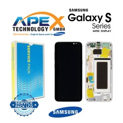Samsung Galaxy S8 (SM-G950F) Lcd Display / Screen + Touch Silver GH97-20457B OR GH97-20458B OR GH97-20473B OR GH97-20629B