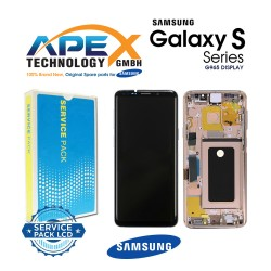 Samsung Galaxy S9 Plus (SM-G965F) Lcd Display / Screen + Touch Sunrise Gold GH97-21691E