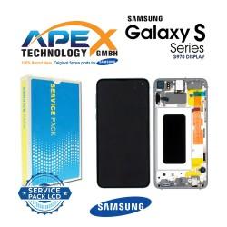 Samsung Galaxy S10e (SM-G970F) Lcd Display / Screen + Touch Prism White GH82-18852B