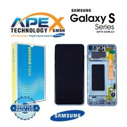 Samsung Galaxy S10 Plus (SM-G975F) Lcd Display / Screen + Touch Prism Blue GH82-18849C