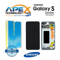 Samsung Galaxy S10 Plus (SM-G975F) Lcd Display / Screen + Touch Prism Green GH82-18849E