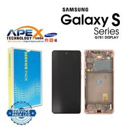 Samsung SM-G781 Galaxy S20 FE 5G Lcd Display / Screen + Touch - Cloud Orange - GH82-24214F OR GH82-24215F