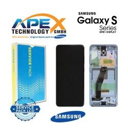 Samsung SM-G981 Galaxy S20 5G LCD Display / Screen + Touch - Blue