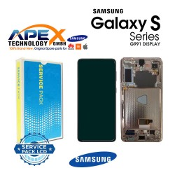 Samsung SM-G991 Galaxy S21 5G Lcd Display / Screen + Touch Gray GH82-24544A
