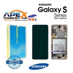 Samsung SM-G991 Galaxy S21 5G Lcd Display / Screen + Touch Phantom Violet + Btry GH82-24718B OR GH82-24716B OR GH82-24545B