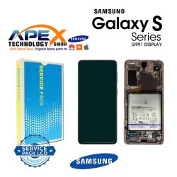 Samsung SM-G991 Galaxy S21 5G Lcd Display / Screen + Touch Phantom Pink + Btry GH82-24718D OR GH82-24716D OR GH82-24545D