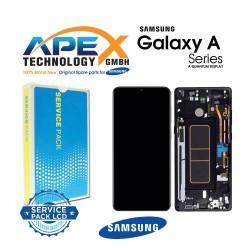 Samsung Galaxy A Qantum Lcd Display / Screen + Touch Prism Crush Black