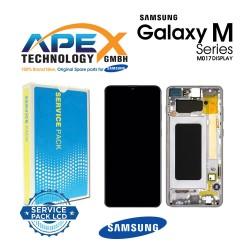 Samsung Galaxy M01s (SM-M017F) Lcd Display / Screen + Touch Black