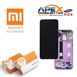 Xiaomi Mi 9 LCD Display / Screen + Touch Violet