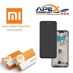 Xiaomi Redmi Note 9 Pro LCD Display / Screen + Touch White