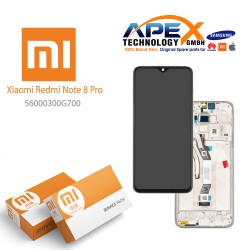 Xiaomi Redmi Note 8 Pro (M1906G7I M1906G7G) Lcd Display / Screen + Touch White 56000300G700
