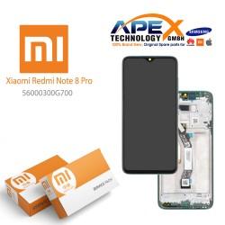 Xiaomi Redmi Note 8 Pro (M1906G7I M1906G7G) Lcd Display / Screen + Touch Green 56000400G700