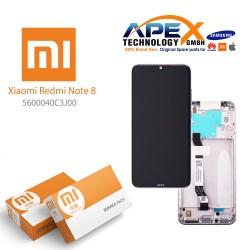 Xiaomi Redmi Note 8 (M1908C3JG) Lcd Display / Screen + Touch moonlight White 5600040C3J00