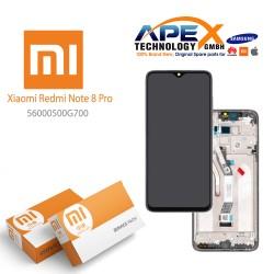 Xiaomi Redmi Note 8 Pro (M1906G7I M1906G7G) Lcd Display / Screen + Touch Black 56000500G700