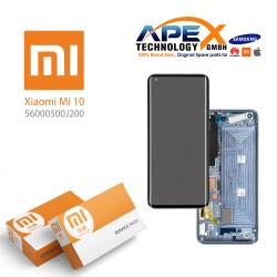 Xiaomi Mi10 Lite Display module LCD / Screen + Touch Green (Service Pack) 56000300J900