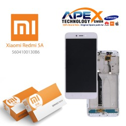 Xiaomi Redmi Note 5 LCD Display / Screen + Touch White
