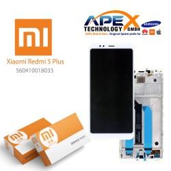 Xiaomi Redmi 5 Plus LCD Display / Screen + Touch White
