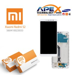 Xiaomi Redmi S2 (Redmi Y2) Lcd Display / Screen + Touch White (Service Pack) 560410023033