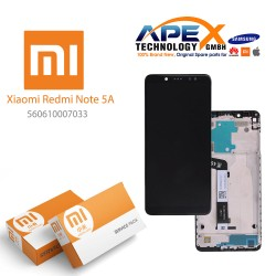 Xiaomi Redmi Note 5A Lcd Display / Screen + Touch Black (Service Pack) 560610007033