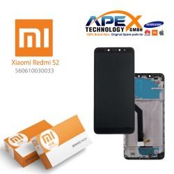 Xiaomi Redmi S2 (Redmi Y2) Lcd Display / Screen + Touch Black (Service Pack) 560610030033