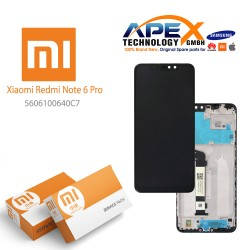 Xiaomi Redmi Note 6 Pro LCD Display / Screen + Touch Black