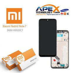 Xiaomi Redmi Note 7 Lcd Display / Screen + Touch Black (Service Pack) 5606100920C7