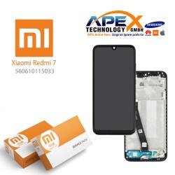 Xiaomi Redmi 7 LCD Display / Screen + Touch Black