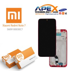 Xiaomi Redmi Note 7 Lcd Display / Screen + Touch Twilight Gold (Service Pack) 5609100030C7
