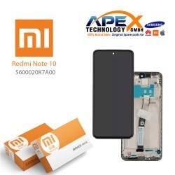 Xiaomi Redmi Note 10 LCD Display / Screen + Touch Black