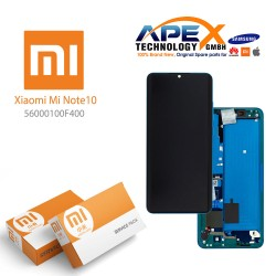 Xiaomi Mi Note 10 LCD Display / Screen + Touch  Green