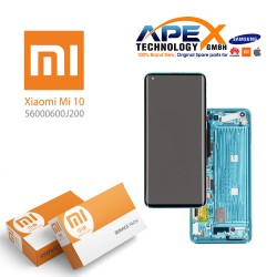 Xiaomi Mi10 Lcd Display / Screen + Touch Green (Service Pack) 560000600J200