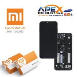 Xiaomi Mi 8 Lite, Mi 8X Lcd Display / Screen + Touch Midnight Black (Service Pack) 560110002033