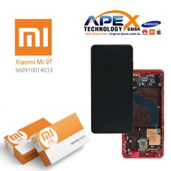 Xiaomi Mi 9T (M1903F10G) Mi 9T Pro (M1903F11G) Lcd Display / Screen + Touch (Service Pack) Red flame 560910014033