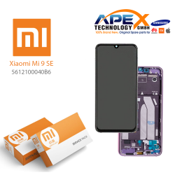 Xiaomi Mi 9 SE LCD Display / Screen + Touch Violet