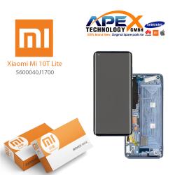Xiaomi Mi10T Lite Display module LCD / Screen + Touch Pearl Gray / Tarnish 5600040J1700