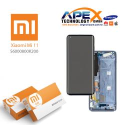 Xiaomi Mi11 Lcd Display / Screen + Touch Black 56000800K200