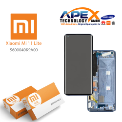 Xiaomi Mi11 Lite Lcd Display / Screen + Touch K9A Blue 5600040K9A00