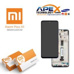 Xiaomi Poco X3 Lcd Display / Screen + Touch Tarnish 560003J20C00
